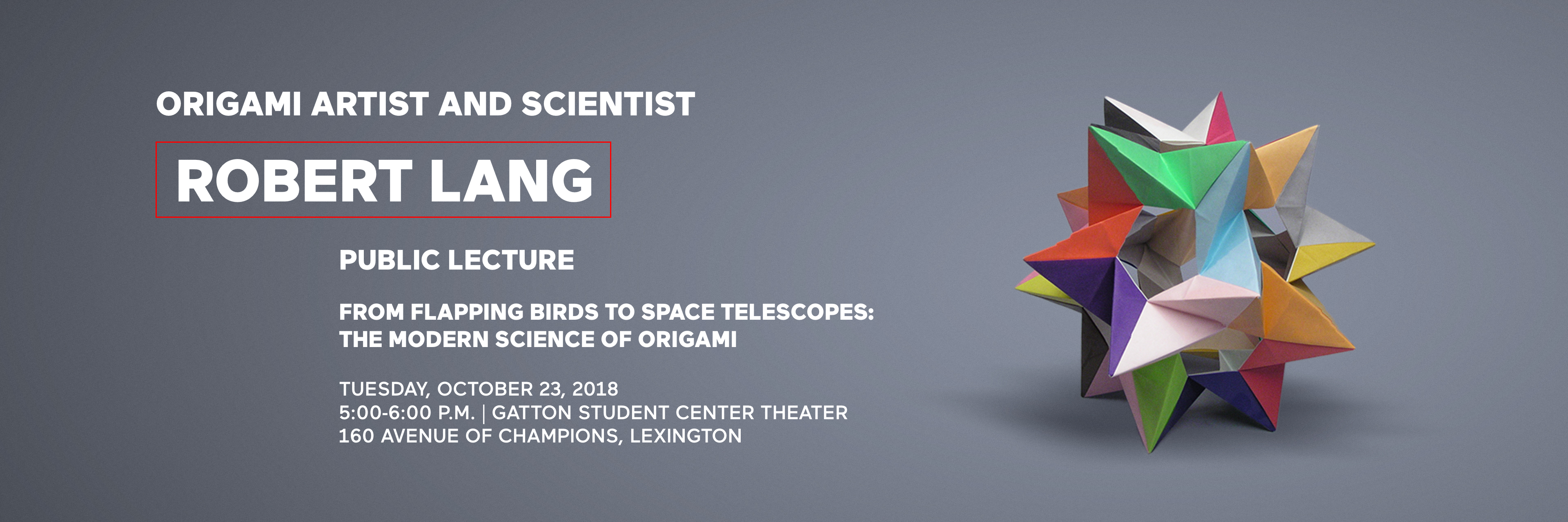 University Of Kentucky Majors >> From Flapping Birds to Telescopes: The Modern Science of ...