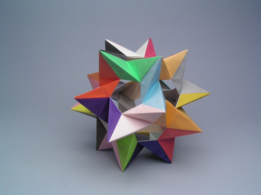 Five tetrahedra